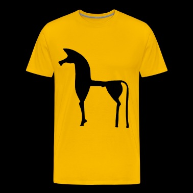The Greek horse - Men's Premium T-Shirt