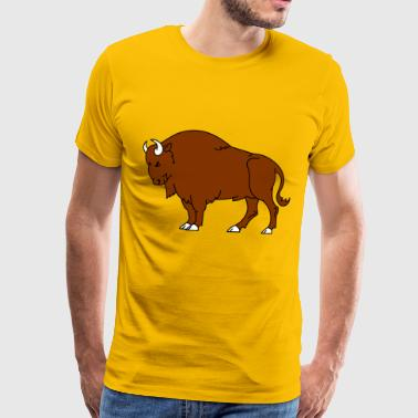 The buffalo - Men's Premium T-Shirt