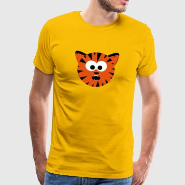 Tiger Cat - Men's Premium T-Shirt