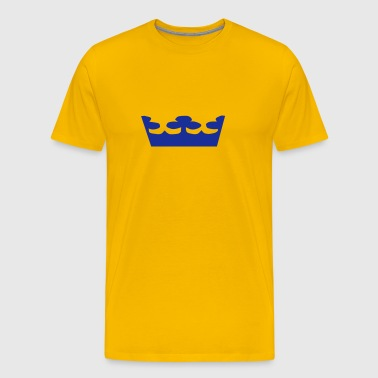 Swedish Crowns, Sweden, Kronen, Crowns, Sverige, www.eushirt.com - Premium-T-shirt herr