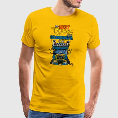 323 truck from Sweden - Men's Premium T-Shirt