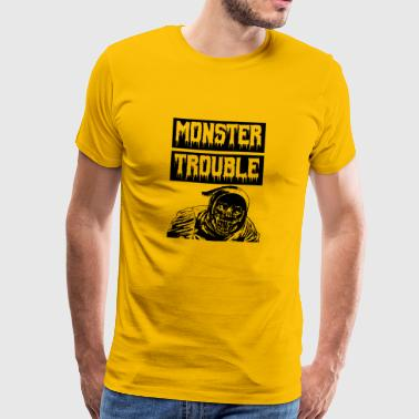 Monster Trouble - Mannen Premium T-shirt