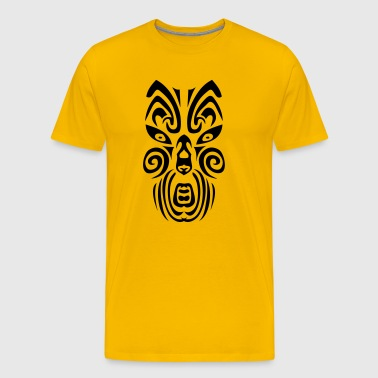 masque maori tribal tattoo12 ethnique - T-shirt Premium Homme