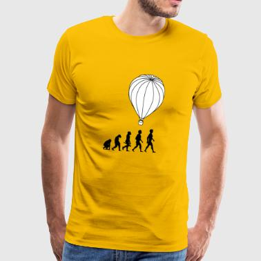 hot air balloon montgolfiere hotair balloon3 - Men's Premium T-Shirt