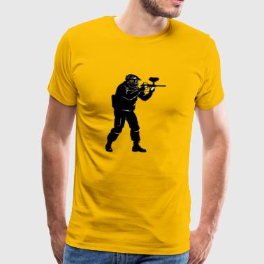 Paintball passion - T-shirt Premium Homme