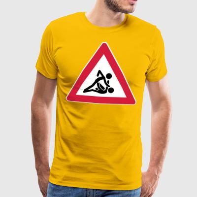 STREET-SIGN-SERIES: MMA-01 - Männer Premium T-Shirt