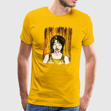 Joy - Premium-T-shirt herr