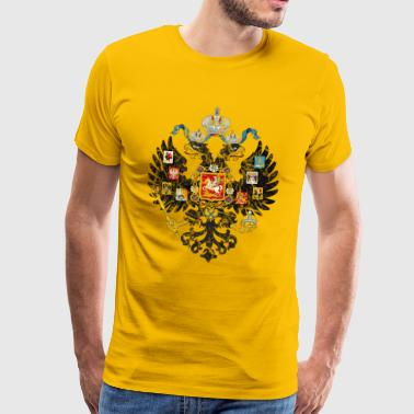 Armoiries de l'Empire russe - T-shirt Premium Homme