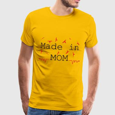 Made in MOM - Mannen Premium T-shirt
