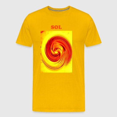 SOL,D on  - Men's Premium T-Shirt