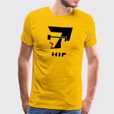hip - Premium T-skjorte for menn