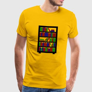 reading books reading books reading122 - Men's Premium T-Shirt