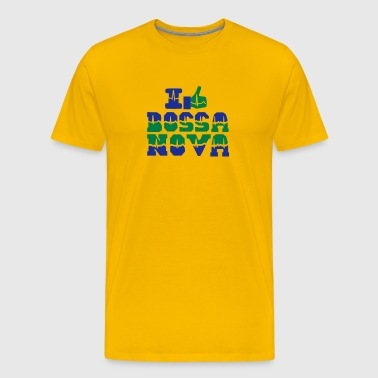 I like Bossa Nova heart beat - Men's Premium T-Shirt
