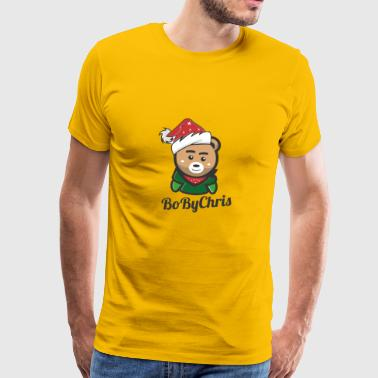 Boby CHRIS - Herre premium T-shirt