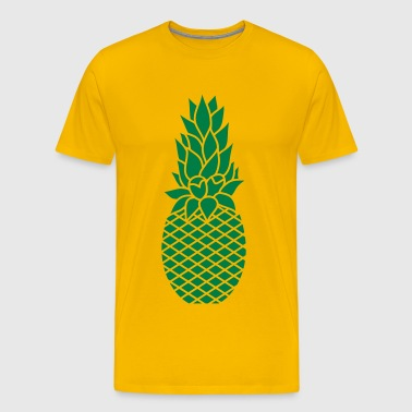 The pineapple - Men's Premium T-Shirt