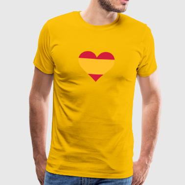 A Heart For Spain - Men's Premium T-Shirt