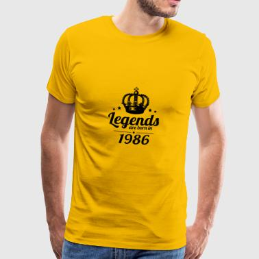 Legends 1986 - Men's Premium T-Shirt