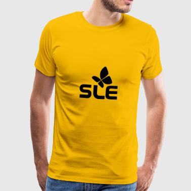 SLE system diseases, with the butterfly - Men's Premium T-Shirt