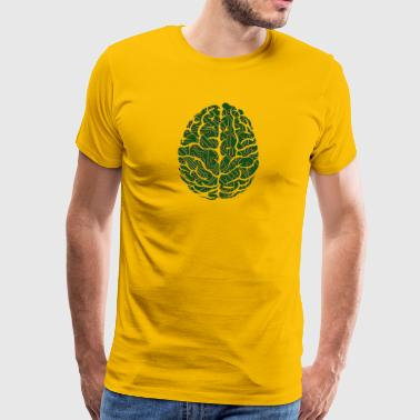 Digital Brain 2 - Premium-T-shirt herr