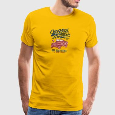 Off Road Jeep - T-shirt Premium Homme