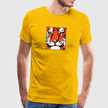 tiger Graphic - Premium T-skjorte for menn