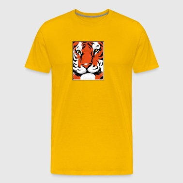 Tiger Graphic - Männer Premium T-Shirt