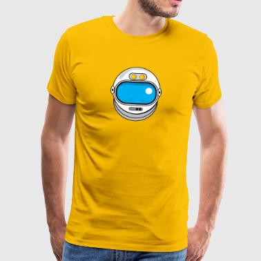 Spacehelmet - Men's Premium T-Shirt