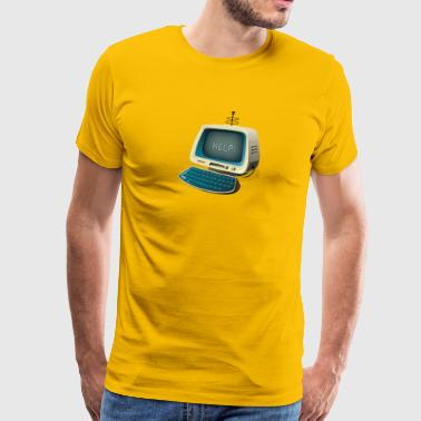 Retro PC - Men's Premium T-Shirt
