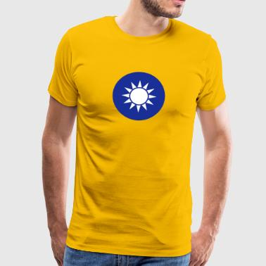 National Emblem Of Taiwan - Premium-T-shirt herr