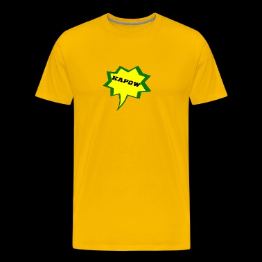 kapow - Men's Premium T-Shirt