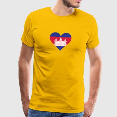 A Heart For Cambodia - Men's Premium T-Shirt