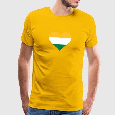 A Heart For India - Men's Premium T-Shirt