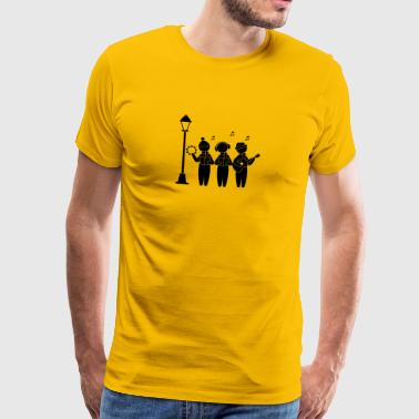 Choir Singing Christmas - Men's Premium T-Shirt