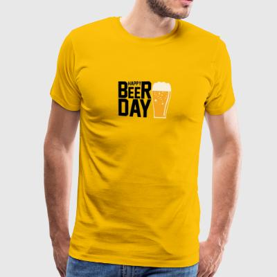 International Beer Day - Premium-T-shirt herr