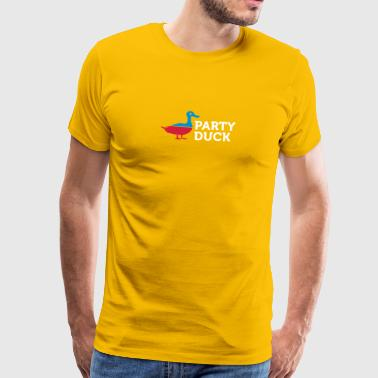 Political Party Animals: Duck - Men's Premium T-Shirt