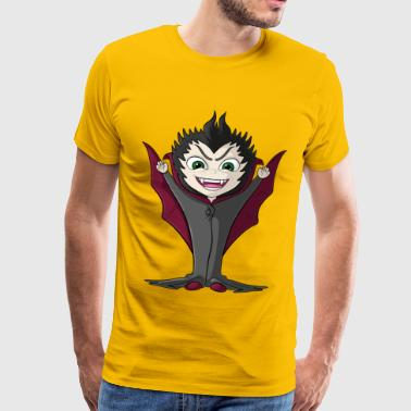 Little cartoon vampire - Men's Premium T-Shirt
