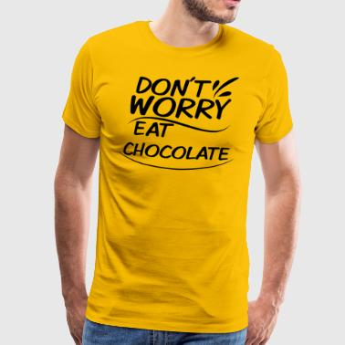Chocolate - Männer Premium T-Shirt