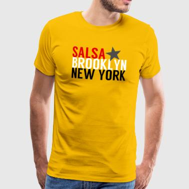 Salsa Brooklyn New York - Maglietta Premium da uomo