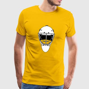 masque de hockey - T-shirt Premium Homme