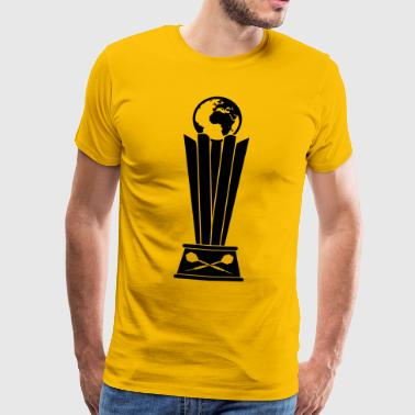 Darts World Championship Trophy - Mannen Premium T-shirt