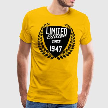 Limited Edition Since 1947 - Men's Premium T-Shirt