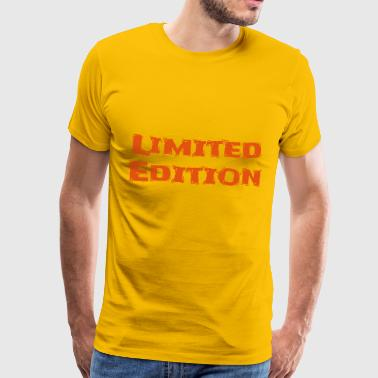 Limited Edition vector - Men's Premium T-Shirt