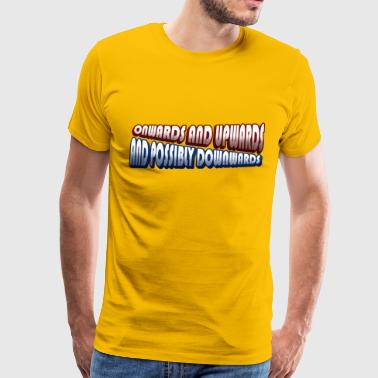 Onwards and Upwards Gradiented - Men's Premium T-Shirt