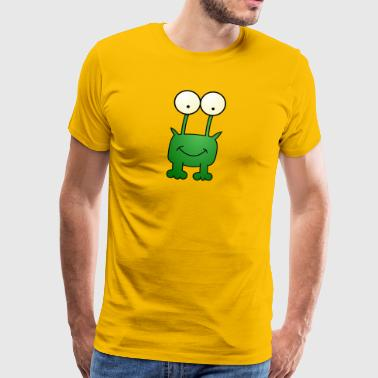 kikker cartoon - Mannen Premium T-shirt