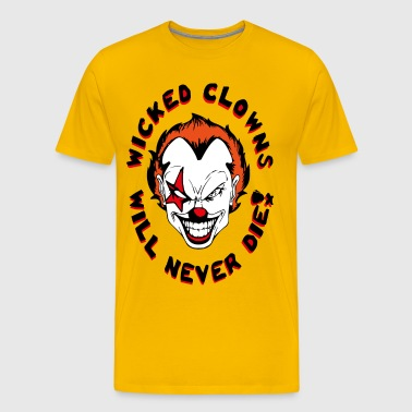 wicked clowns - Premium-T-shirt herr