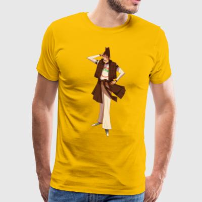 Brown character - Men's Premium T-Shirt