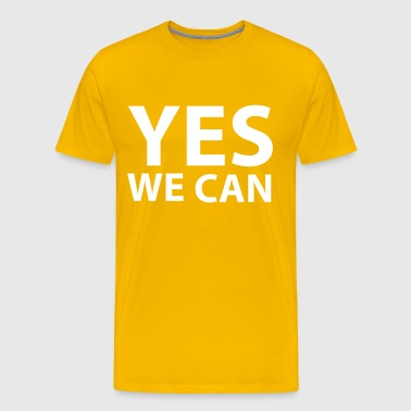 Yes we can - Men's Premium T-Shirt