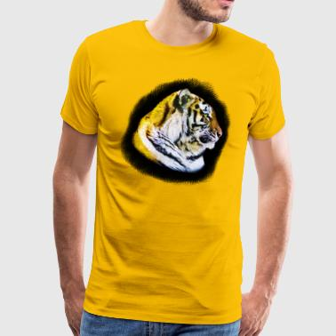Tigers Head - Men's Premium T-Shirt