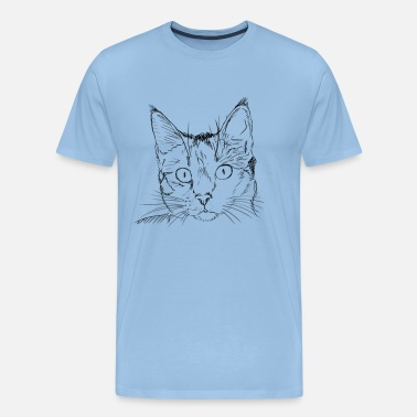 Pearl Jam Jam The Cat - Mannen Premium T-shirt