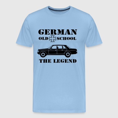 Mb 123 Old School German  - Männer Premium T-Shirt